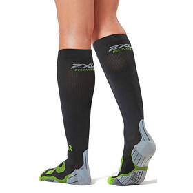 2XU Compression Socks Women for Recovery Black/Grey